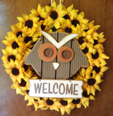 Owl Sunflower